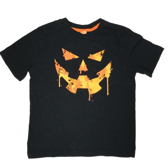Target Other - Halloween Pumpkin Black Graphic Tee A000463